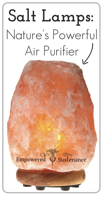 salt lamps: nature's powerful air purifiers!