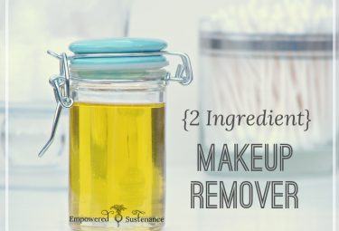 2 ingredient DIY Makeup Remover - great recipe!