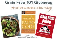 Grain Free 101 Giveaway – $90 Value!