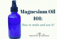 Magnesium Oil 101: How to Make and Use It