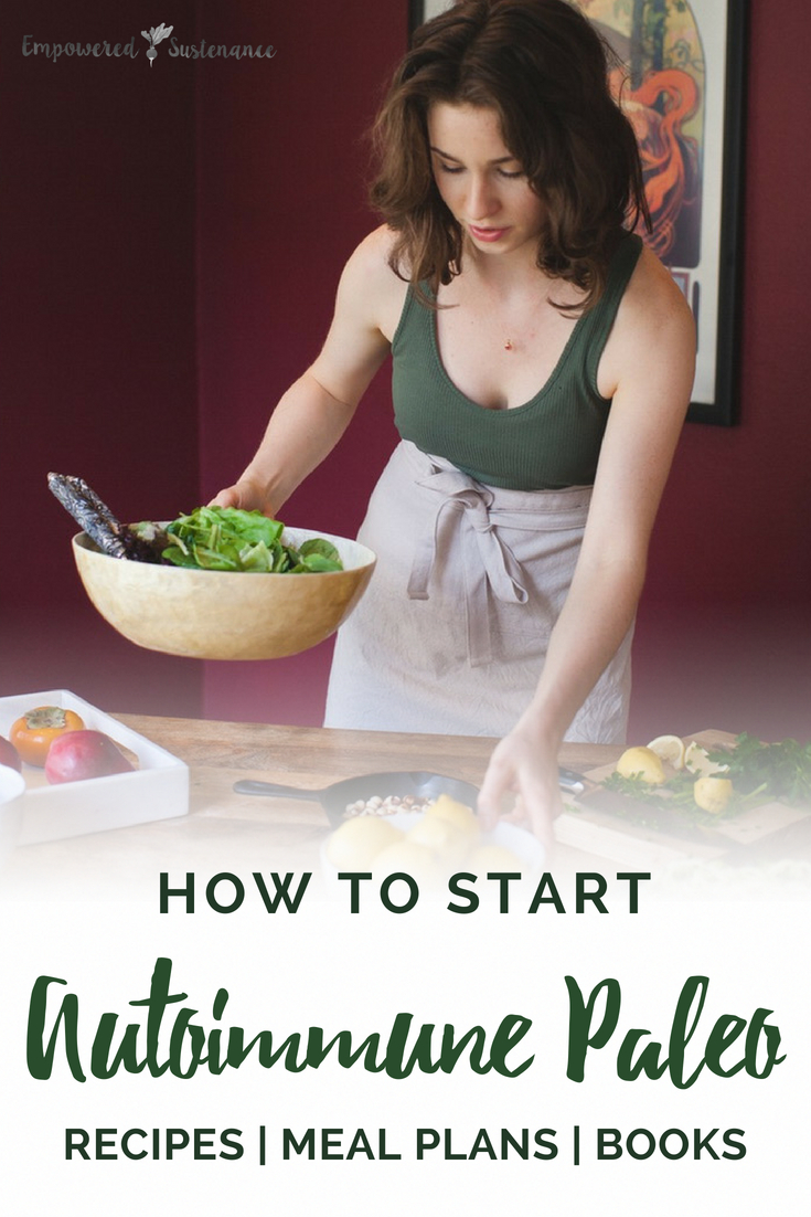 How to start the Autoimmune Paleo Protocol with food lists, recipes, resources and more. The Autoimmune Paleo Protocol is gluten-free, dairy-free, egg-free, nut-free, seed-free, and nightshade-free to promote recovery from autoimmune diseases. #aip #autoimmunepaleo #aip #glutenfree #dairyfree #nutfree #nightshadefree #eggfree #healthy #paleodiet #primal #whole30