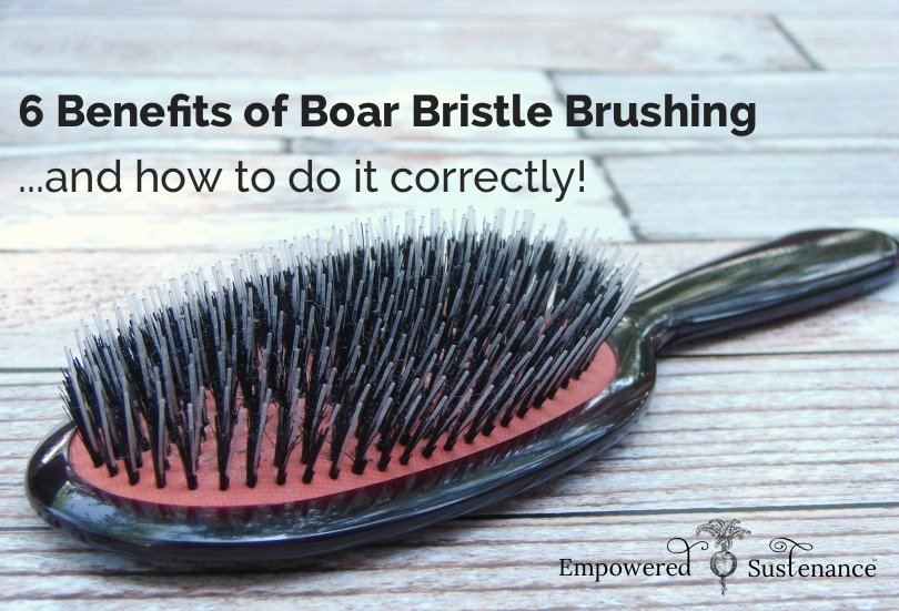 Best Natural Bristle Brush For Thick Hair