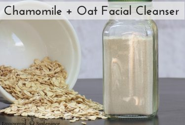 Soothing Facial Cleanser Recipe