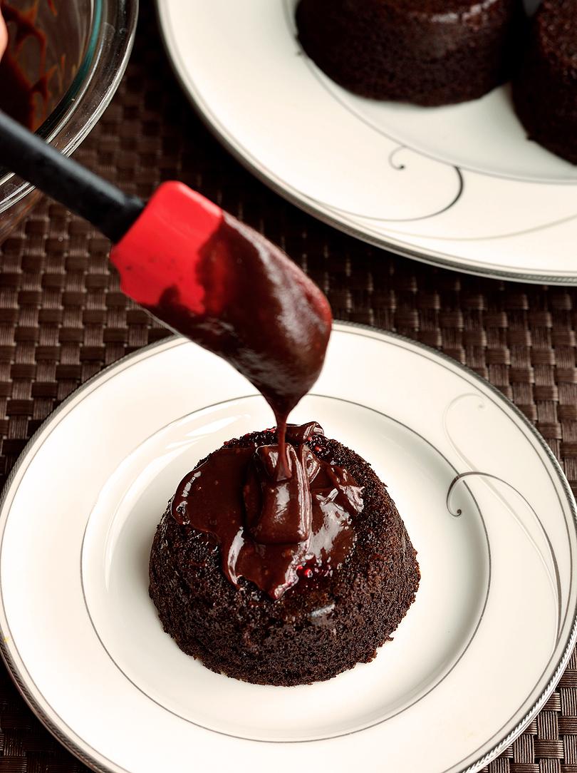 Paleo Chocolate Raspberry Cupcakes