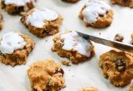 Coconut Flour Pumpkin Raisin Cookies