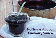 Blueberry Sauce Recipe {No Sugar Added}