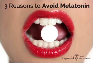 Why melatonin is bad for you + better alternatives