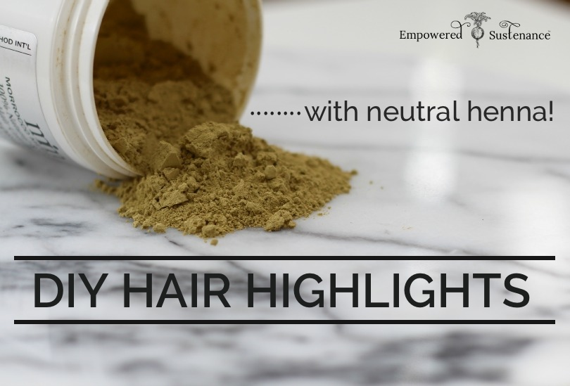 how to: diy hair highlights with henna!