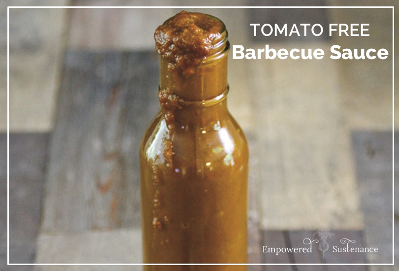 tomato free barbecue sauce recipe