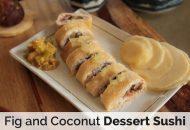 Fig and Coconut Dessert Sushi (Autoimmune Paleo)