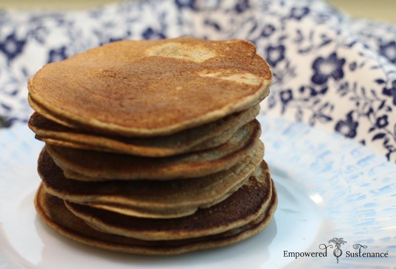 tigernut flour pancakes + intro to tigernut flour