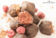 Paleo Raspberry Carob Truffles