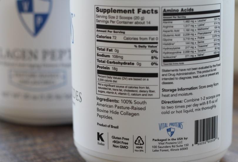 collagen protein powder nutrition