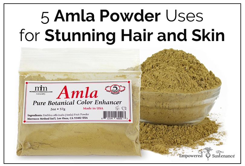 How to use amla powder for hair and skin - a cheap and fabulous DIY treatment!