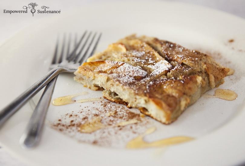 Paleo oven pancake with coconut flour apple paleo oven pancake made with nutrient dense coconut flour ccuart Images