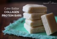 Cake Batter Collagen Protein Bar Recipe