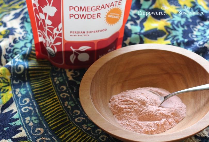 pomegranate powder uses