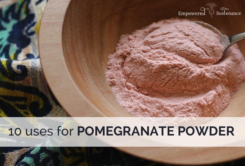 pomegranate powder uses 3