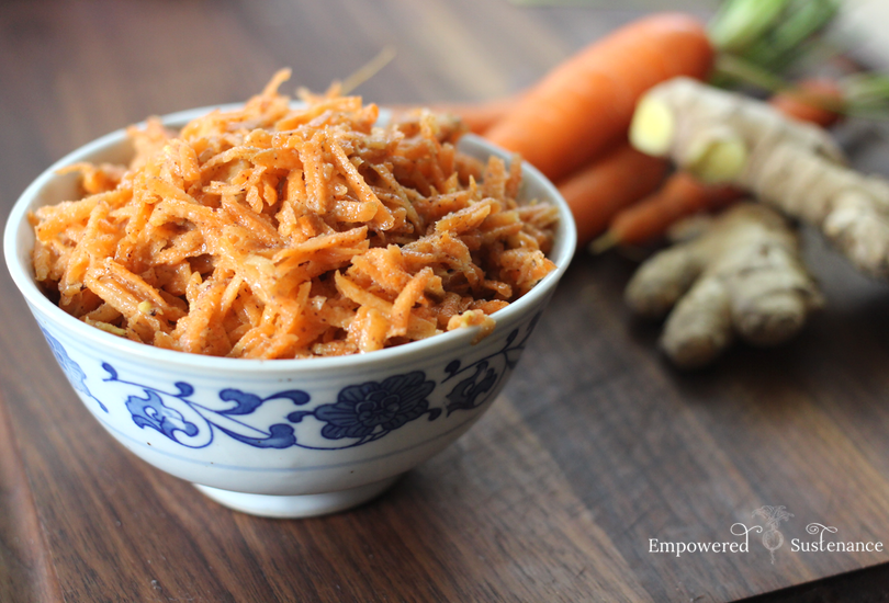ginger carrot salad recipe
