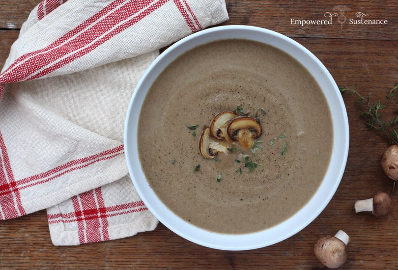 paleo cream of mushroom soup recipe