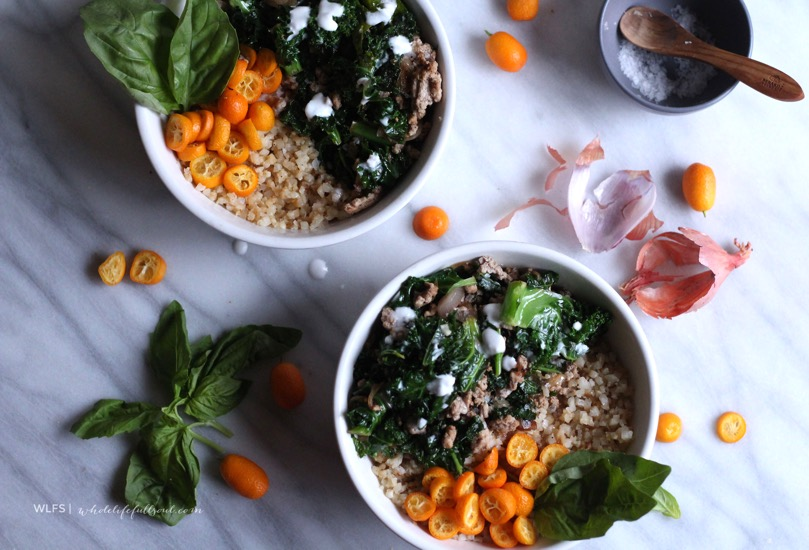 Cauliflower Rice Buddha Bowl | Empowered Sustenance