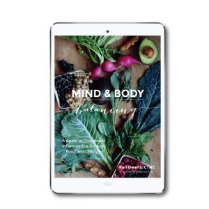 mind and body balancing