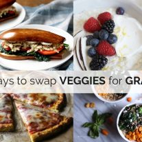 genius ways to swap veggies for grains