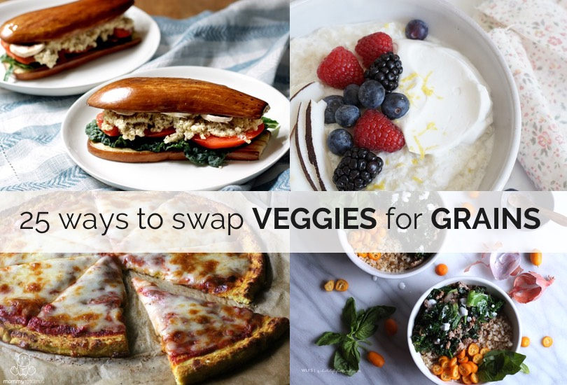 swap veggies for grains 11