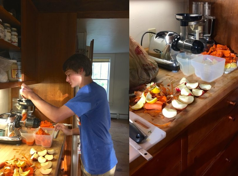 What does a day on the GAPS diet look like for a family?