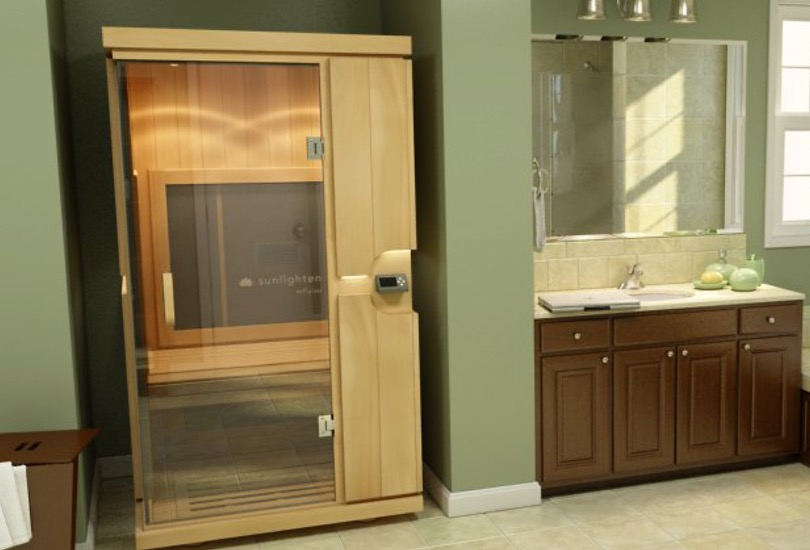 This is the mPulse sauna from Sunlighten