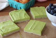 No Bake Paleo Lime Bars