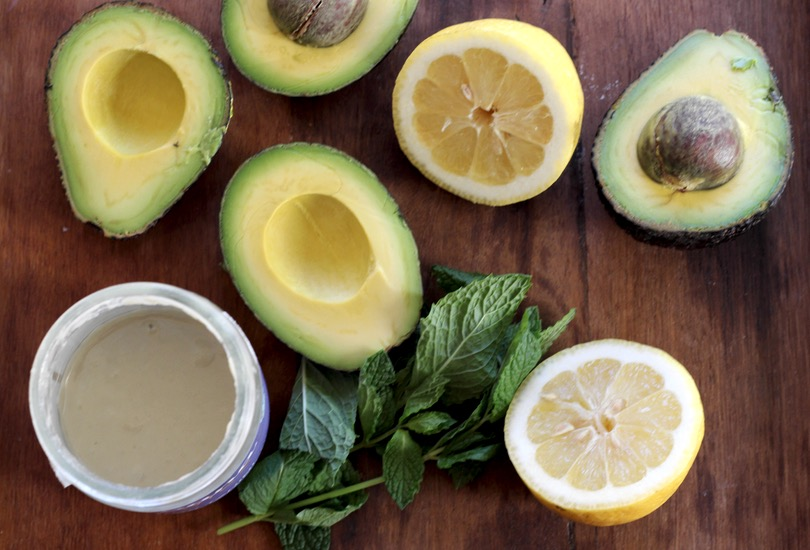 Avocado, mint and tahini dip recipe