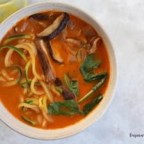 10 Minute Thai Red Curry Soup