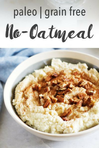 image of paleo no-oatmeal