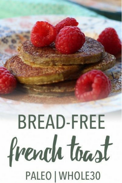 image of bread-free french toast