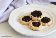 Paleo Thumbprint Cookies with Cassava Flour (AIP)