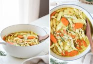 Paleo Creamy Chicken Stew with Turmeric