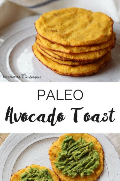 image of paleo avocado toast