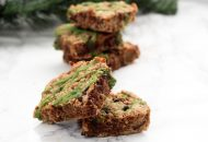 Paleo Mint Chocolate Cookie Bars (AIP Option)