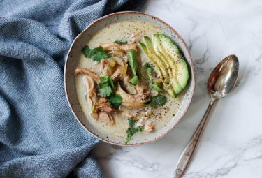 Paleo White Chicken Chili-1