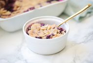 Paleo Blueberry Crisp (AIP)