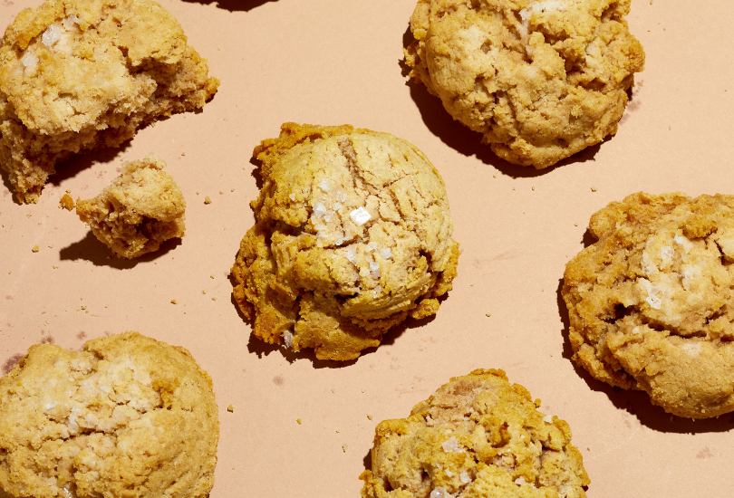Recipe photo: paleo drop biscuits with cassava flour