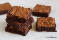 Paleo Tahini Brownies