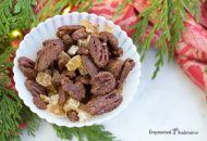 Ginger Spice Candied Pecans, for DIY Holiday Gifts