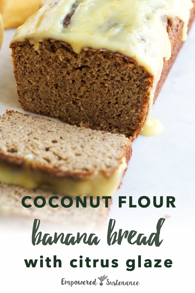 Image of coconut flour banana bread