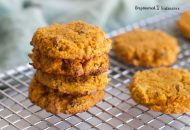 Coconut Flour Carrot Cake Cookies