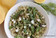 Asparagus + Herb Quinoa Pilaf
