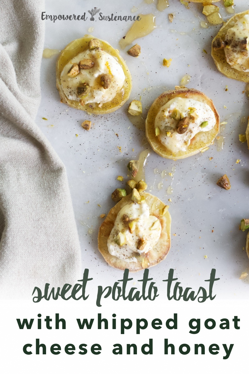 image of sweet potato toast